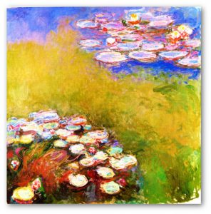 Claude Monet- Lilie wodne - nenufary