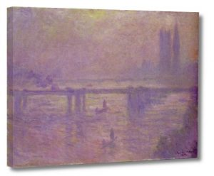 Claude Monet, Most Charing Cross, b