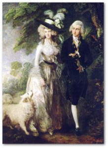Thomas Gainsborough, Poranny spacer 1785, 3-2 c